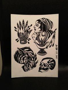 Joe Ellis Traditional Ink, Traditional Tattoos, American Traditional, Tatto Love, Love Tattoos, Dark Mark, Sang, Black Work, Drawing Practice