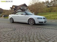 Audi A4 Cabriolet (8H7, 8HE) 03-2003 von K-Concept  Bild 111365