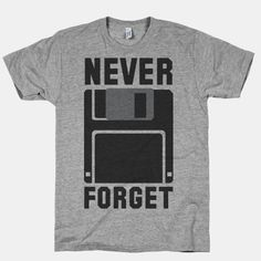 Never forget your old friend the floppy disk with this retro design