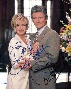 Patrick DUFFY & Linda GRAY - DALLAS Autograph (Signed photo)