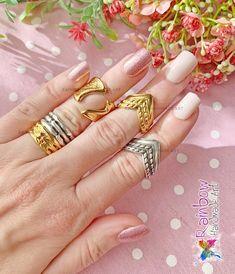 Gold and Silver Rings Handmade Art, Handmade Jewelry, Gold And Silver Rings, Rainbow, Rain Bow, Rainbows, Handmade Jewellery, Jewellery Making, Diy Jewelry