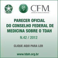 COGNITIVA TDAH: PARECER OFICIAL DO CONSELHO FEDERAL DE MEDICINA SO...