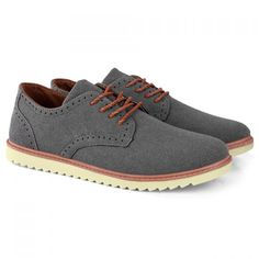Laconic Carving and Lace-Up Design Men's Casual Shoes foun on dresslily.com