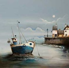 """Run Aground"" -- by Gary Walton, British"