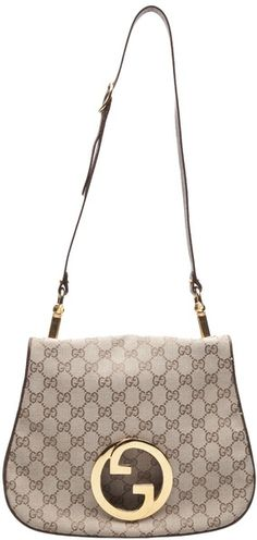 73911b92c27 GUCCI VINTAGE Monogram Crossbody - Lyst Gucci Purses