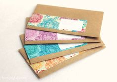 Free – Peony pattern wrap around labels