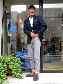 Japan Fashion, Mens Fashion, Japan Street, Mr Style, Summer Suits, Japanese Men, Classic Man, Vogue, Cap Outfits