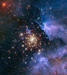 Celestial Fireworks in the Starburst Cluster