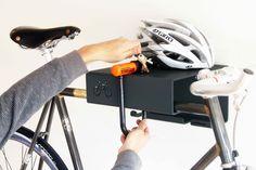 Indoor Bike Shelf by Cyclehoops - CycleStyle Australia Bike Storage Small Space, Bicycle Storage, Small Storage, Storage Ideas, Garage Storage, Bike Hooks, Bike Shelf, Bike Rack, Bicycle Lock