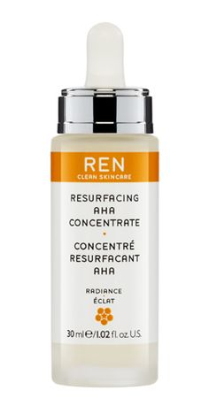 Resurfacing AHA Concentrate 30ml | £30.00  A concentrate formulated to resurface the skin and renew the complexion giving a radiant, youthful glow. A complex of Glycolic, Lactic, Tartaric and Citric acids promotes skin-cell turnover leaving skin looking revitalised, brighter, smoother and more healthy.