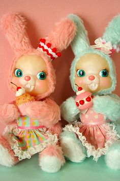Usaron Japanese bunny doll by cherrymerry, via Flickr