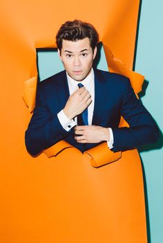 Actor Andrew Rannells, the current lead of Broadway hit Hedwig and the Angry Inch, opens up about life on and off-screen. Christian Borle, Andrew Rannells, Calvin Klien, Music Theater, Theatre, Tv Girls, Dan Howell, Celebs, Celebrities