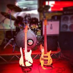 Beautiful Company #Guitar #Bass #Amplifier #IF #Stage #View #Drum #Night #Performance #Live #Microphone #Enjoy #Dance #Drink #Party