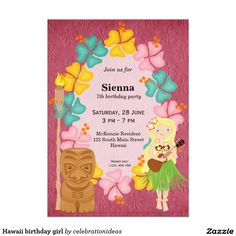 Sold this #hawaii #birthday #invitations to Germany.  Thanks for you who purchased this.