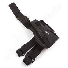 MIL-TEC Tiefziehholster schwarz für Pistolen - rechts