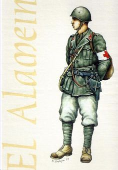 Regio Esercito - Aiutante del Corpo Medico, El Alamein 1942