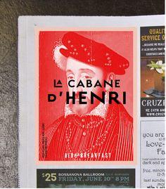 La cabane d'Henri by Marie-Laurence Carrière, via Behance