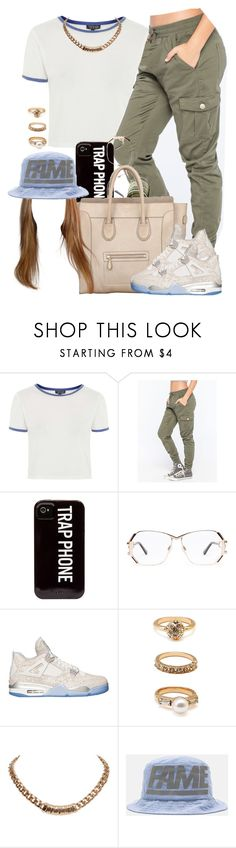 """""""•Back At It•"""" by oh-aurora ❤ liked on Polyvore featuring Topshop, Almost Famous, Cazal, CÉLINE, Retrò, Forever 21, Givenchy and Stussy"""