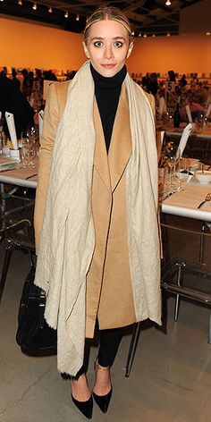 Oversized camel blazer