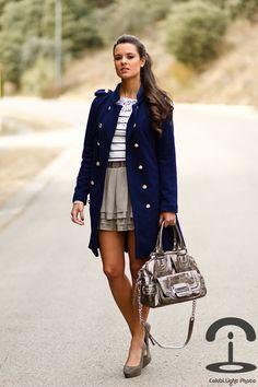 Crimenes de la Moda: love the jacket shirt and skirt