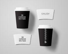 Art Deco Branding Design for a Coffee Shop