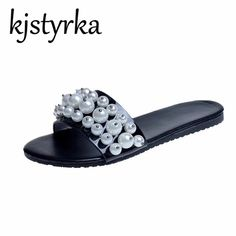 f03f2fbf624f8 women slippers ·  US  15.86  Kjstyrka 2018 Summer Ladies Outside Beach  Slides Women  2018  beach