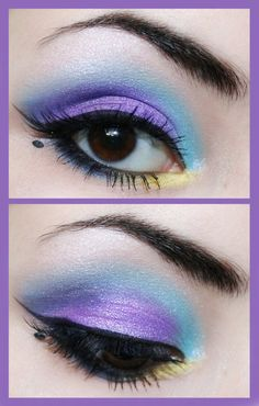 Eye Shadow- looks cool but I don't know if I'd ever do it