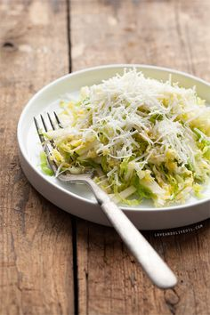 Shaved Brussels Sprout Salad -  Even people that do not like bussel sprouts may like this.  It will keep several days in the fridge, I think the second day it was better.  To make it vegan, just do not use cheese, it is good without the cheese too.  Very easy to make