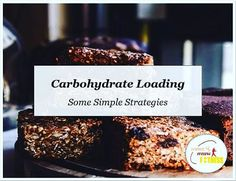 Carb Loading Part 3!  Some Simple Strategies to help with the carb loading process:  ____________________  1: Start on time!  Starting your carb-load a full 36 hours before the game gives you as much time as needed to fuel your glycogen stores and eat the required amount of carbohydrate. Failure to start on time leaves you chasing a big carbohydrate intake too close to the game which can lead to gastric discomfort feelings of bloating fullness stress etc. For a 2pm Saturday game your carb… Stress, Leaves, Feelings, Game, Big, Simple, Desserts, Food, Meal