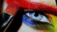 Яркий макияж глаз 22
