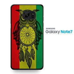 Owl Jamaican Flag TATUM-8361 Samsung Phonecase Cover For Samsung Galaxy Note 7