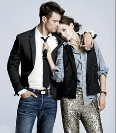 love the jeans with a nice shirt, tie and blazer.
