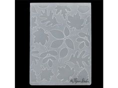 4.25 x 5.75 Darice Embossing Folder FLEUR DE LIS CardMaking Scrapbook 1215-63