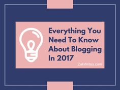 I've been blogging since 2011 and in that time, I've succeeded and failed, been through a bunch of Google updates and watched a dozen blog... Need To Know, Fails, Everything, Blogging, Success, Writing, Google, Life, Make Mistakes