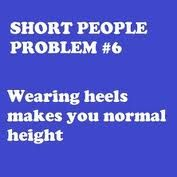 Love heels and they got to be extra high to be tall...lol