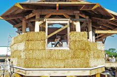 Straw bale and timber frames are highly compatible, beautiful, and the efficiency and longevity of using these natural building techniques is superior in a cold climate setting.