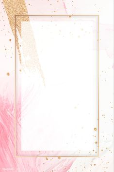 Blank rectangle pink frame template vector | premium image by rawpixel.com / NingZk V. Gold Wallpaper Background, Framed Wallpaper, Pink Wallpaper, Wallpaper Backgrounds, Iphone Wallpaper, Background Banner, Pink Glitter Background, Blank Background, Vector Background