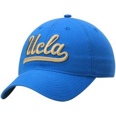 UCLA Bruins adidas Basic Logo Slouch Adjustable Hat - Blue 95c332573790