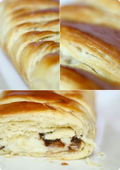 danish-braid with vanilla custard and choc chip filling - from foodbeam.com