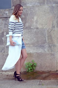 Le Trendy Charm: HOW TO WEAR A NAUTICAL STRIPED SWEATER - PART 1