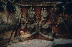 Leper King Terrace, Angkor Wat, Cambodia | Steve McCurry