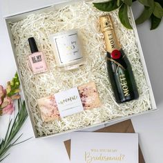 Things to put in Bridesmaid Box
