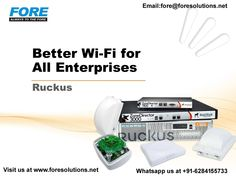 Ruckus delivers a simply better wireless experience that makes everyday life and business better across the globe.Ruckus is making Wi-Fi better – not necessarily faster or cheaper but more reliable.Need for more info regarding wifi whatsapp us at +91-6284155733, visit our website www.foresolutions.net, email at fore@foresolutions.net. #server #serverstorage #storageservices #ITservices #networksecurity #networksolutions #datasecurity   #wifi #wireless #wirelessnetwork #wificonnection Wireless Network, Network Solutions, Cloud Computing, Gaming Computer, Wi Fi, Leadership, Globe, Knowledge, Technology