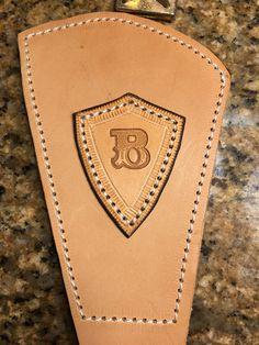 Buck 110, Leather
