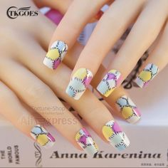 TKGOES 24pcs set  Acrylic Nail tips False Nails French Fake Nails Decorated With free glue Art display finger Designer JQ171     Tag a friend who would love this!     FREE Shipping Worldwide     Get it here ---> http://www.yamidoo.com/tkgoes-24pcs-set-acrylic-nail-tips-false-nails-french-fake-nails-decorated-with-free-glue-art-display-finger-designer-jq171/