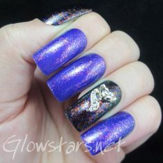 What does the fox say? A manicure using Collection Blackjack and Cult Nails Seduction