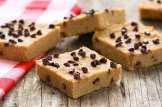 Hungry Girl's Healthy Peanut Butter Blondies