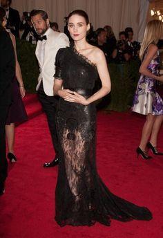 Rooney Mara at the Met Costume Institute Gala 2012