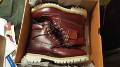 Timberland Chestnut Quartz Collection Icon 6 Waterproof Brogue Boot #Timberland #Boots