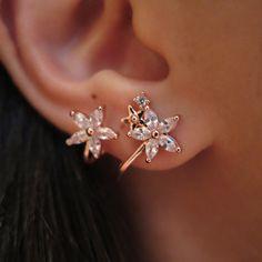 Floral Twirl Earrings
